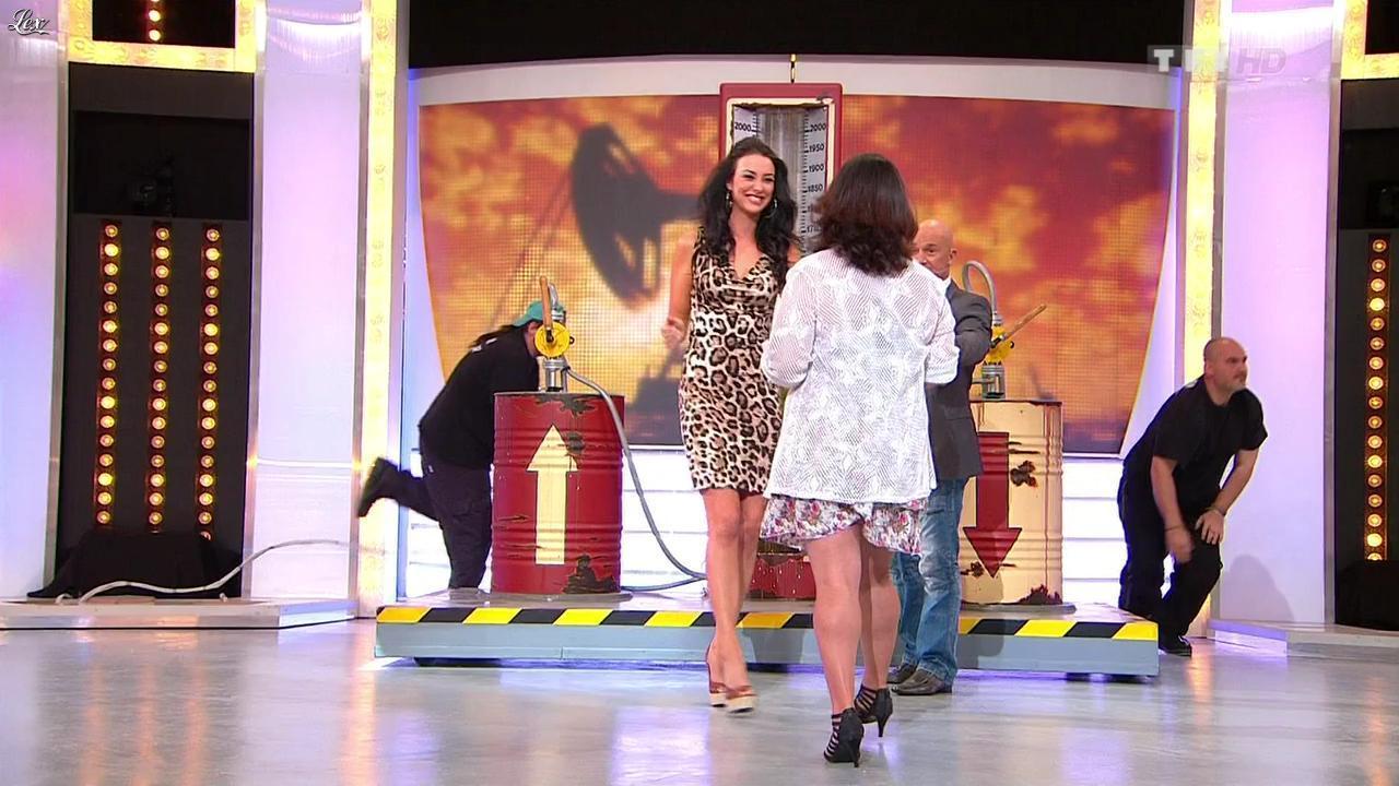 Fanny Veyrac dans le Juste Prix. Diffusé à la télévision le 02/10/12.