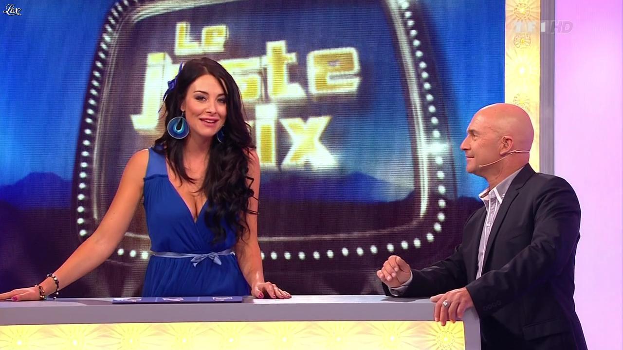 Fanny Veyrac dans le Juste Prix. Diffusé à la télévision le 15/10/12.