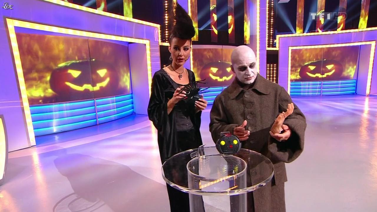 Fanny Veyrac dans le Juste Prix. Diffusé à la télévision le 31/10/12.