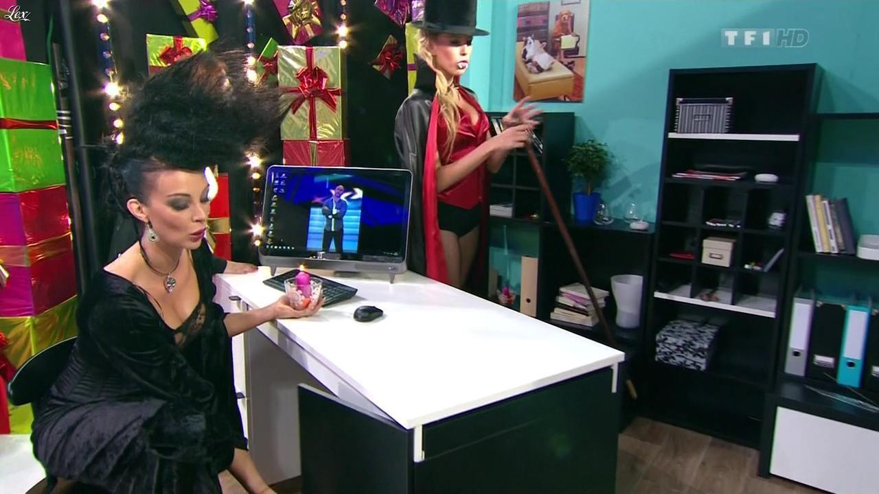 Les Gafettes, Fanny Veyrac et Nadia Aydanne dans le Juste Prix. Diffusé à la télévision le 31/10/12.