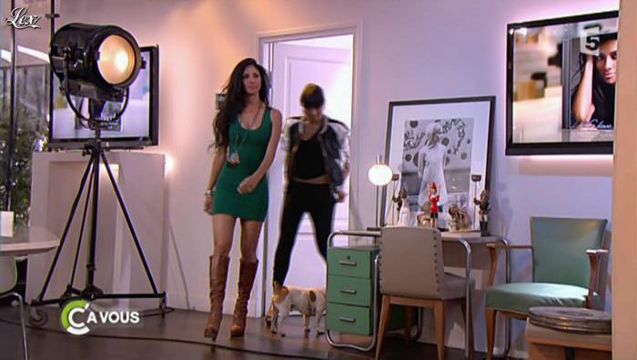 Nicole Scherzinger dans C à Vous. Diffusé à la télévision le 01/06/11.