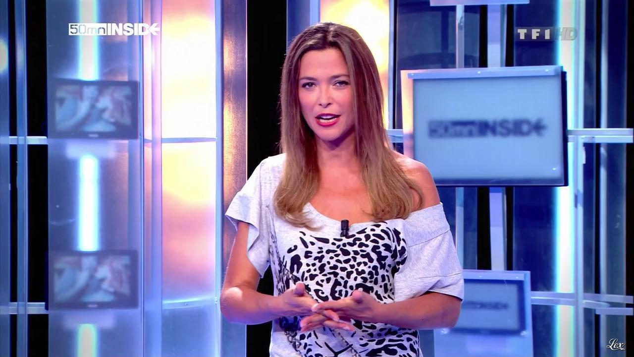 Sandrine Quétier dans 50 Minutes Inside. Diffusé à la télévision le 03/09/11.