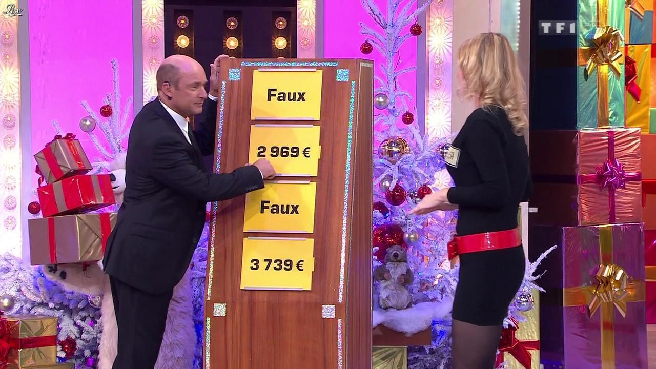 Vanessa dans le Juste Prix. Diffusé à la télévision le 20/12/11.