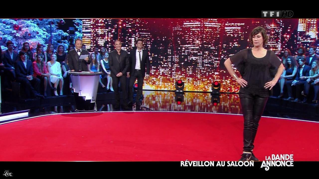 Virginie Hocq dans le 31 Tout Est Permis. Diffusé à la télévision le 31/12/12.