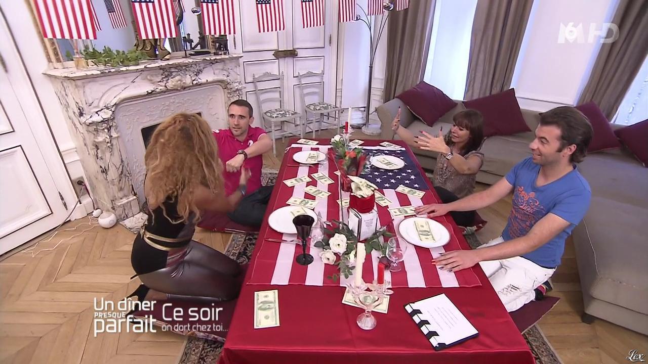 Afida Turner dans un Diner Presque Parfait. Diffusé à la télévision le 03/01/14.