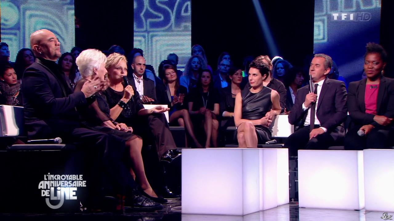 Alessandra Sublet dans l'Incroyable Anniversaire de Line. Diffusé à la télévision le 28/12/13.