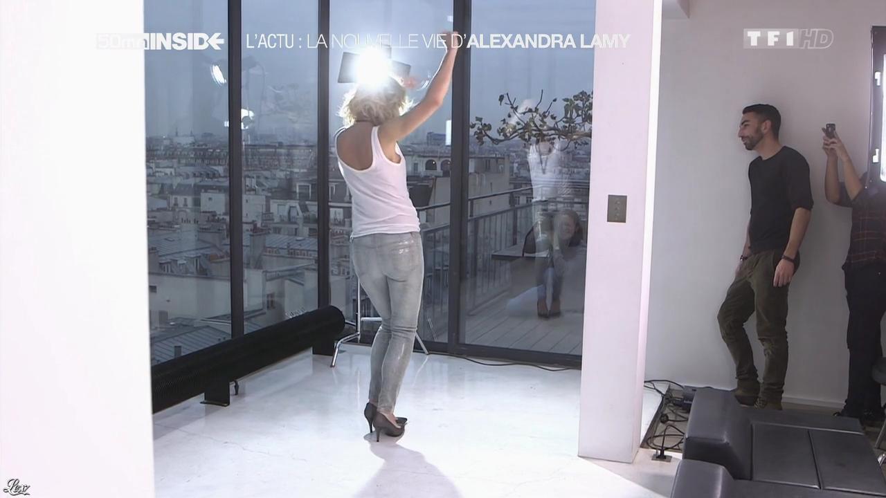 Alexandra Lamy dans 50 Minutes Inside. Diffusé à la télévision le 28/12/13.