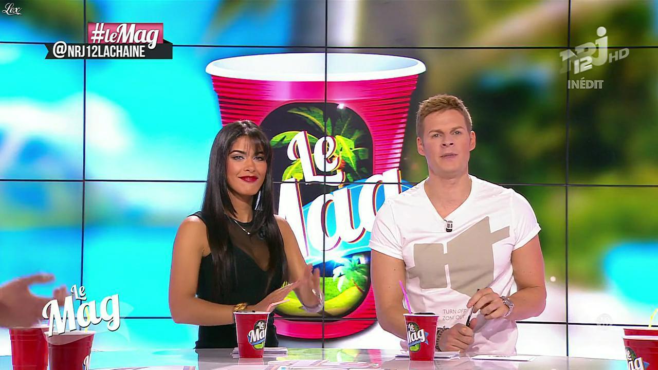 Ayem Nour dans le Mag. Diffusé à la télévision le 27/11/13.