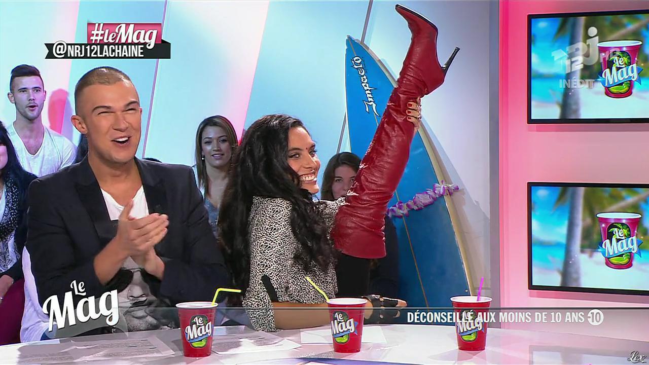 Cynthia dans le Mag. Diffusé à la télévision le 21/11/13.