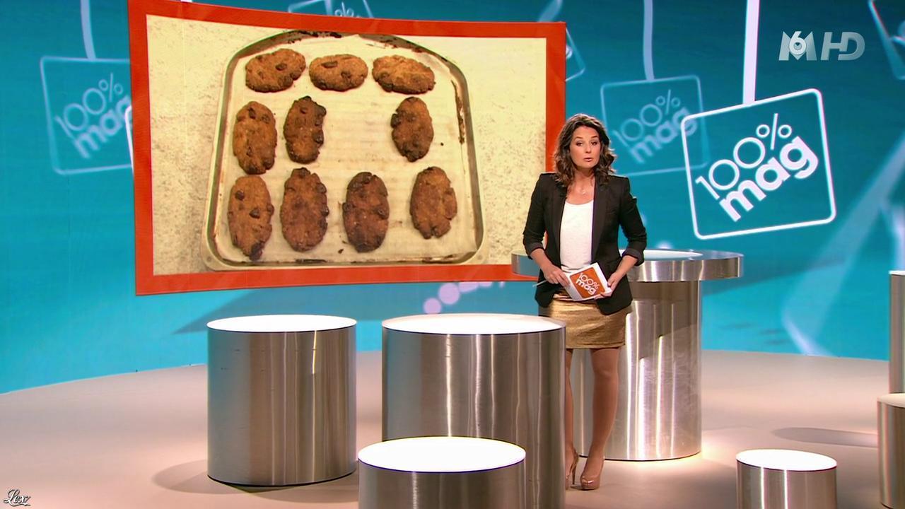 Faustine Bollaert dans 100 Mag. Diffusé à la télévision le 06/01/14.