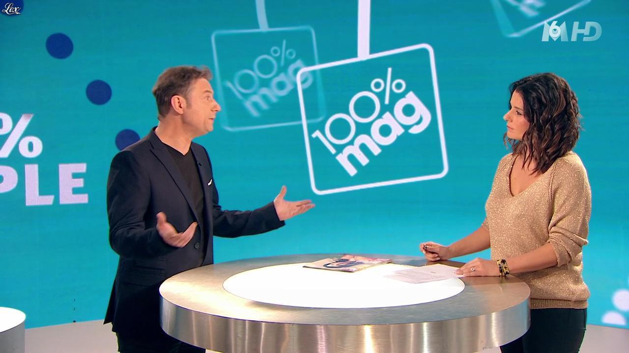 Faustine Bollaert dans 100 Mag. Diffusé à la télévision le 30/01/14.