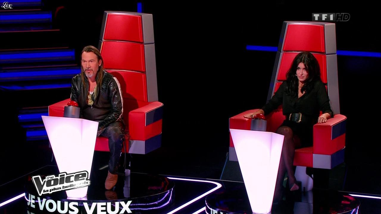 Jenifer Bartoli dans The Voice. Diffusé à la télévision le 02/02/13.