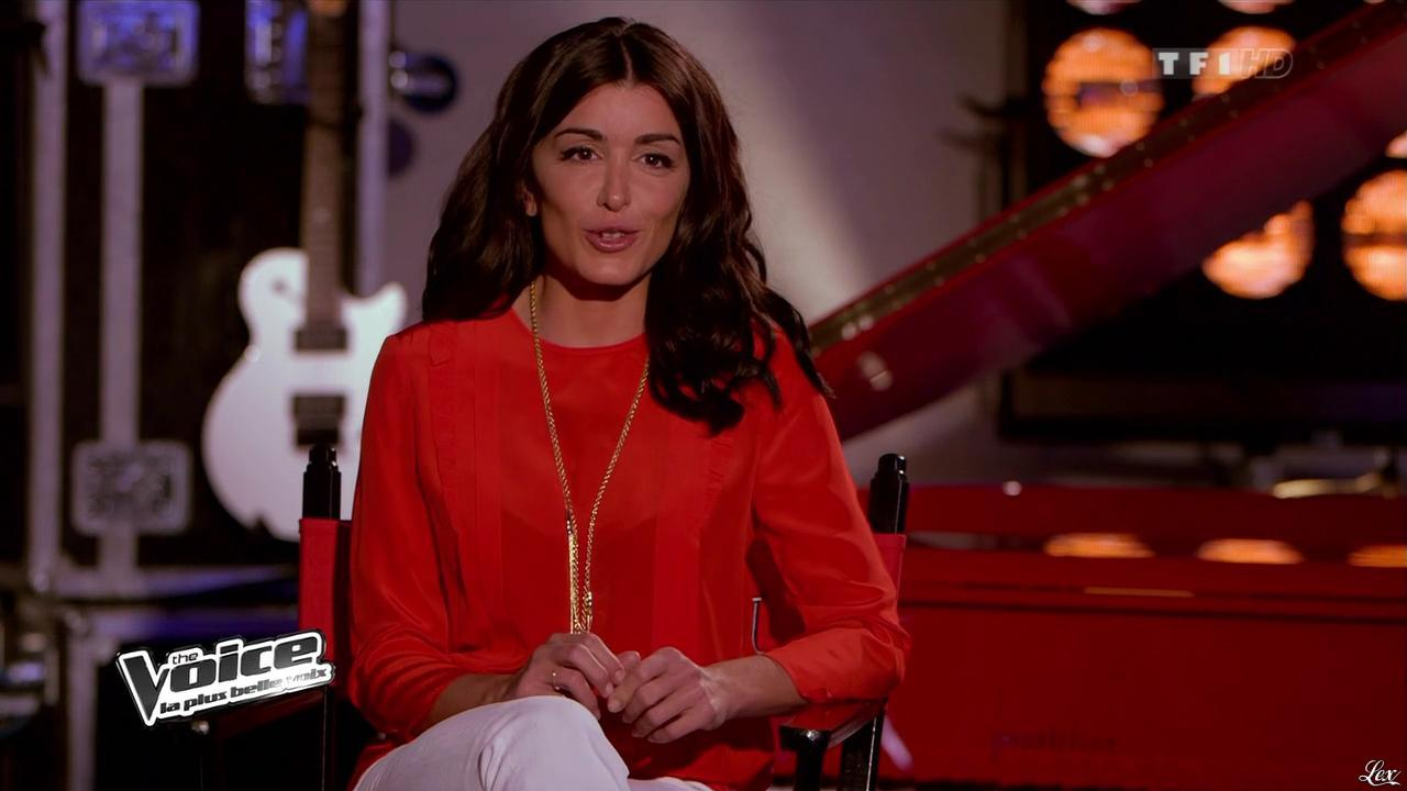 Jenifer Bartoli dans The Voice. Diffusé à la télévision le 16/02/13.