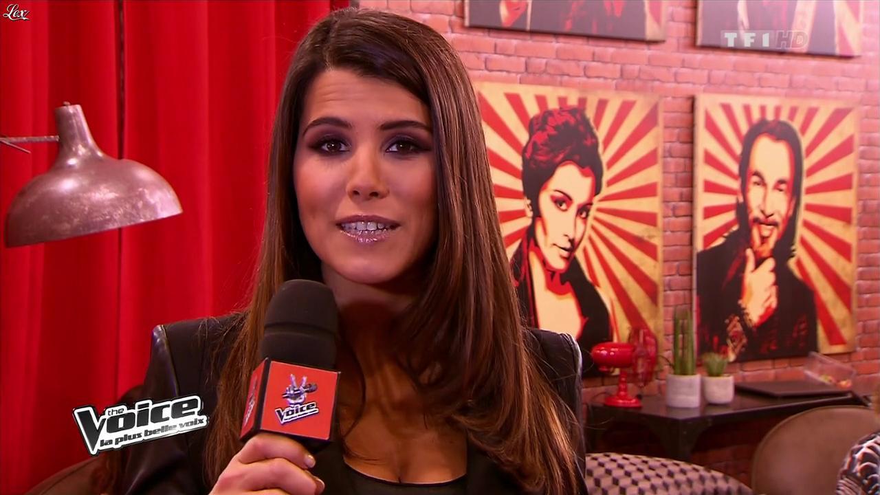 Karine Ferri dans The Voice. Diffusé à la télévision le 02/02/13.