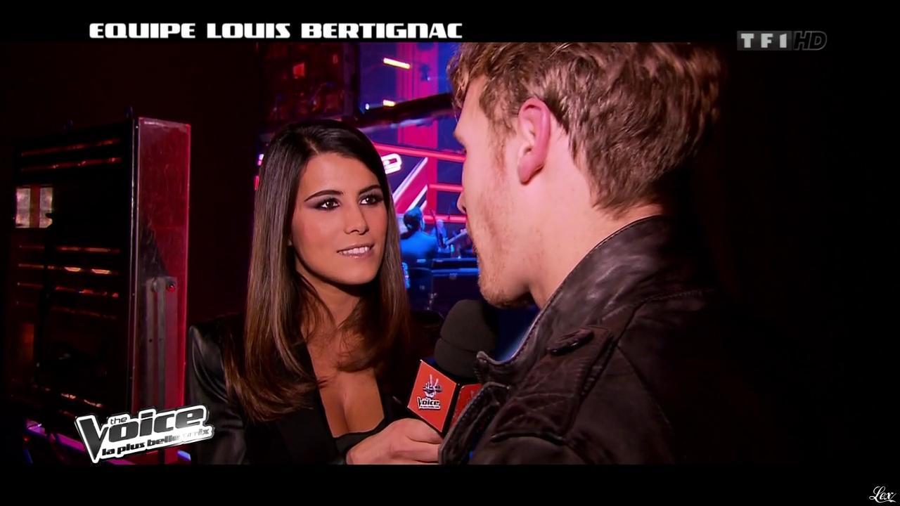 Karine Ferri dans The Voice. Diffusé à la télévision le 16/02/13.