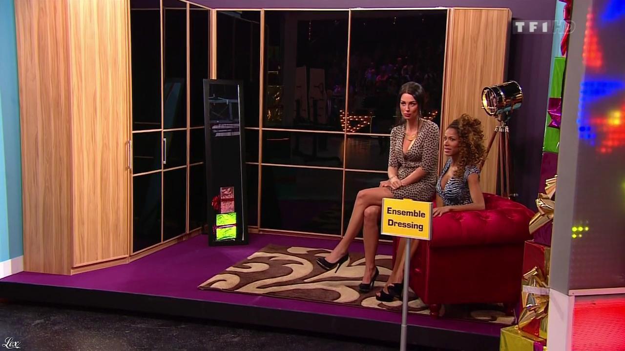 Les Gafettes, Fanny Veyrac et Doris Rouesne dans le Juste Prix. Diffusé à la télévision le 15/01/13.