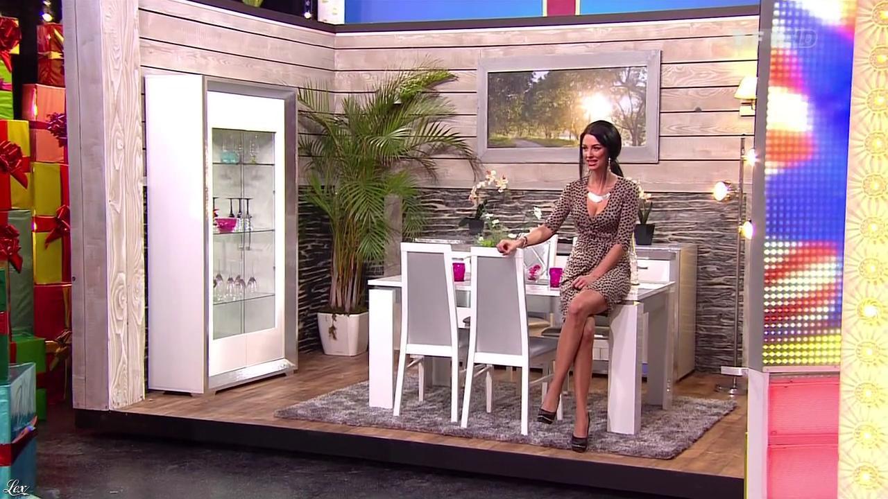 Fanny Veyrac dans le Juste Prix. Diffusé à la télévision le 15/01/13.