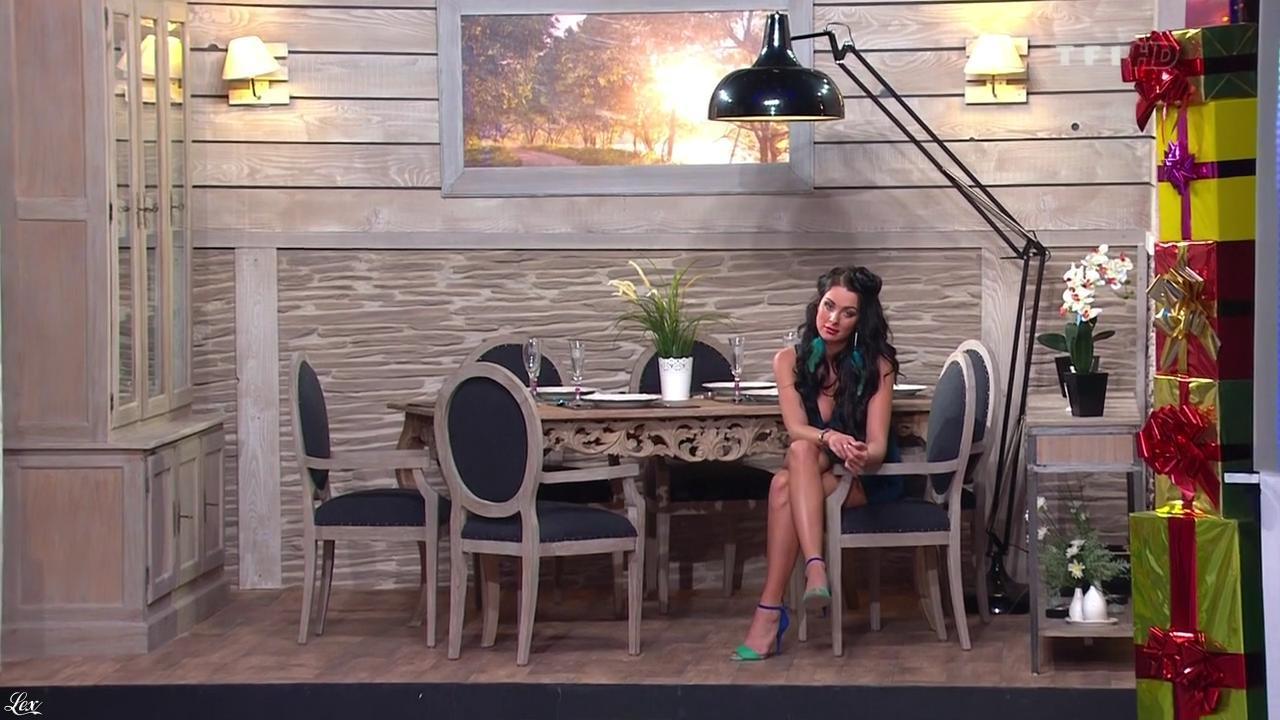 Fanny Veyrac dans le Juste Prix. Diffusé à la télévision le 18/01/13.