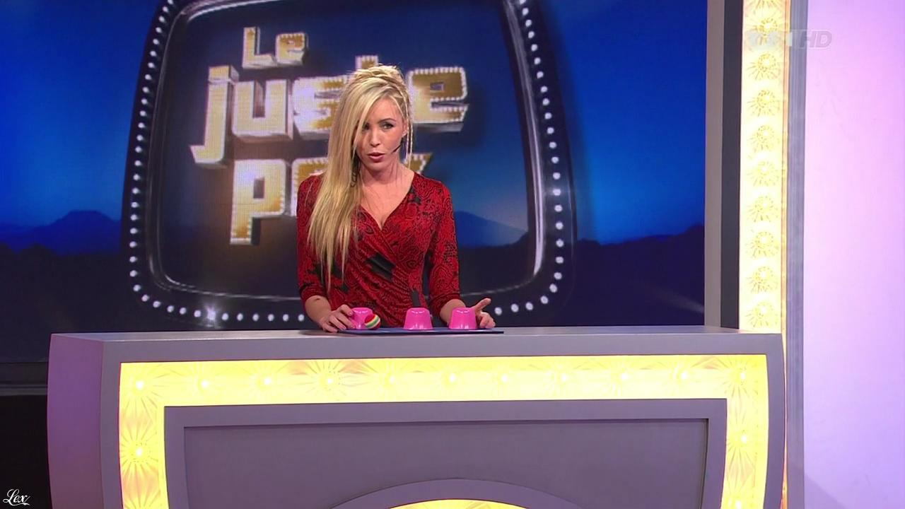 Nadia Aydanne dans le Juste Prix. Diffusé à la télévision le 18/01/13.