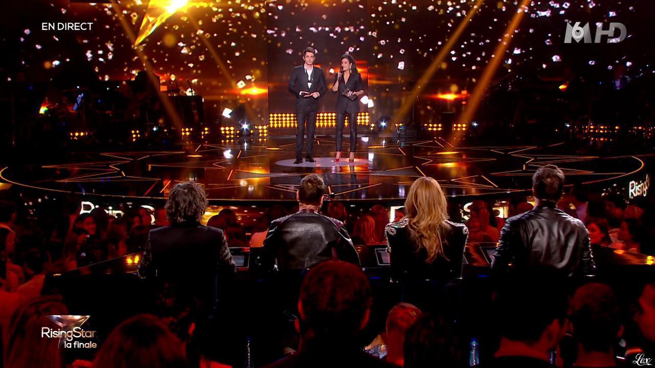 Faustine Bollaert dans Rising Star. Diffusé à la télévision le 13/11/14.