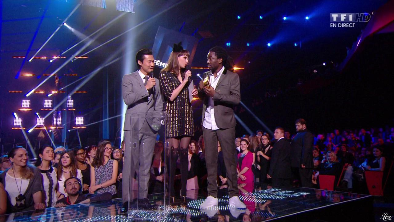 Frédérique Bel dans NRJ Music Awards. Diffusé à la télévision le 13/12/14.