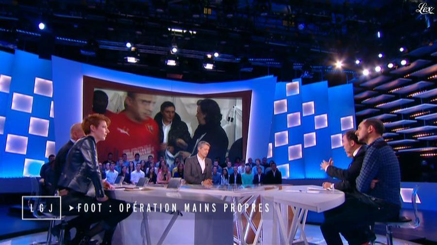 Natacha Polony dans le Grand Journal de Canal Plus. Diffusé à la télévision le 18/11/14.
