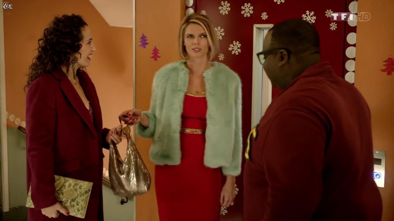 Sylvie Tellier dans Nos Chers Voisins Fêtent Noel. Diffusé à la télévision le 26/12/14.