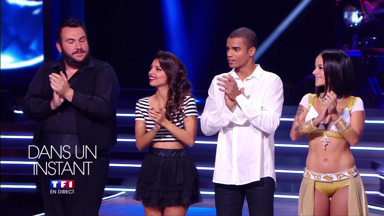 Tal et Alizée dans Pre Annonce de Danse avec les Stars. Diffusé à la télévision le 12/10/13.
