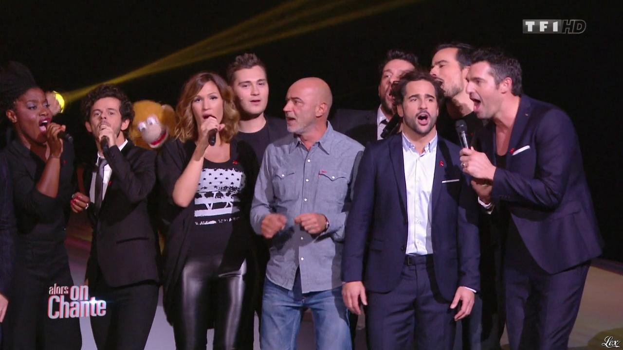 Vitaa dans Alors On Chante. Diffusé à la télévision le 28/11/14.