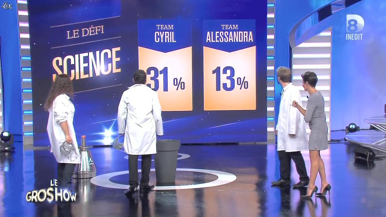 Alessandra Sublet dans le Gros Show. Diffusé à la télévision le 25/06/15.