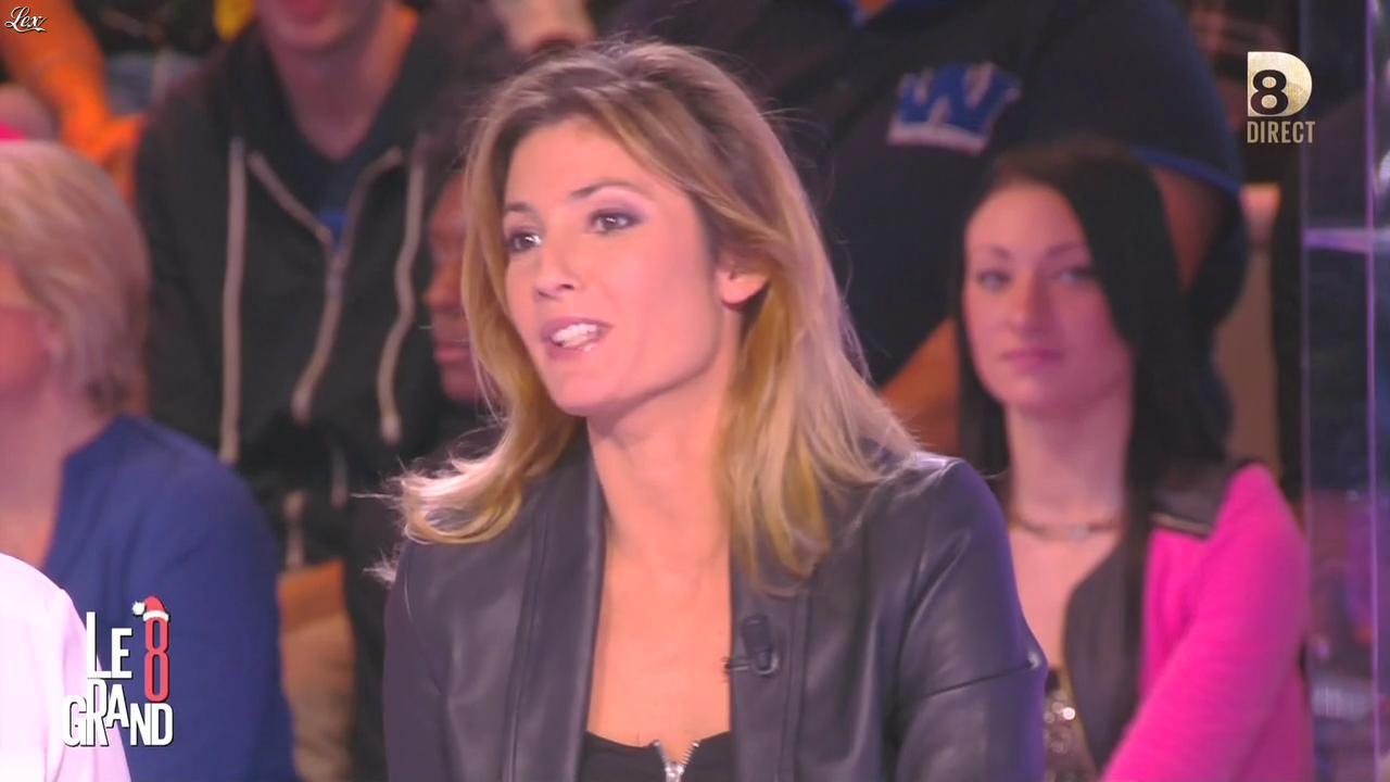 Caroline Ithurbide dans le Grand 8. Diffusé à la télévision le 07/12/15.