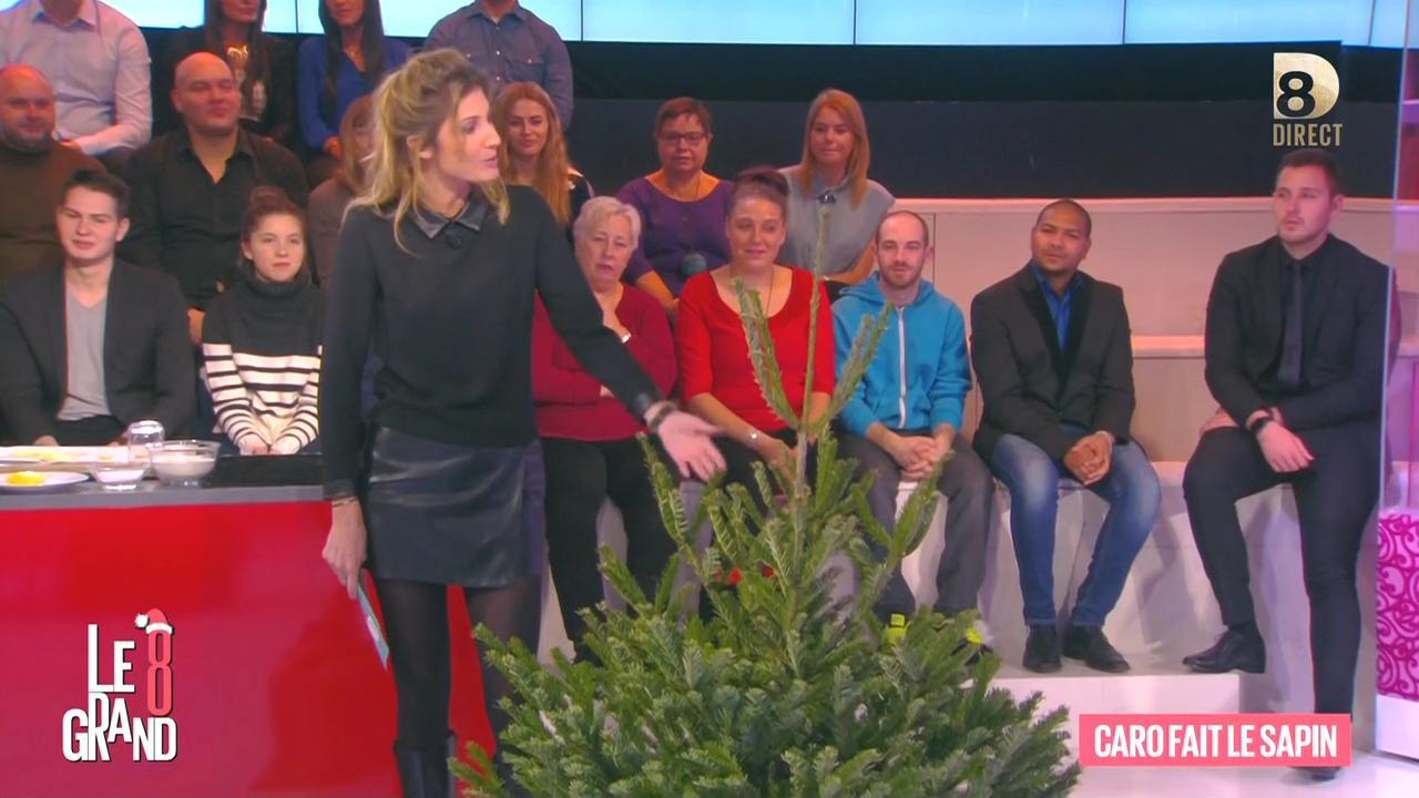 Caroline Ithurbide dans le Grand 8. Diffusé à la télévision le 08/12/15.