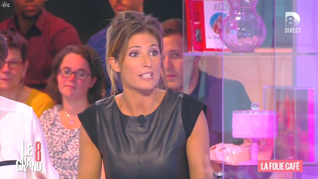 Caroline Ithurbide dans le Grand 8. Diffusé à la télévision le 21/09/15.