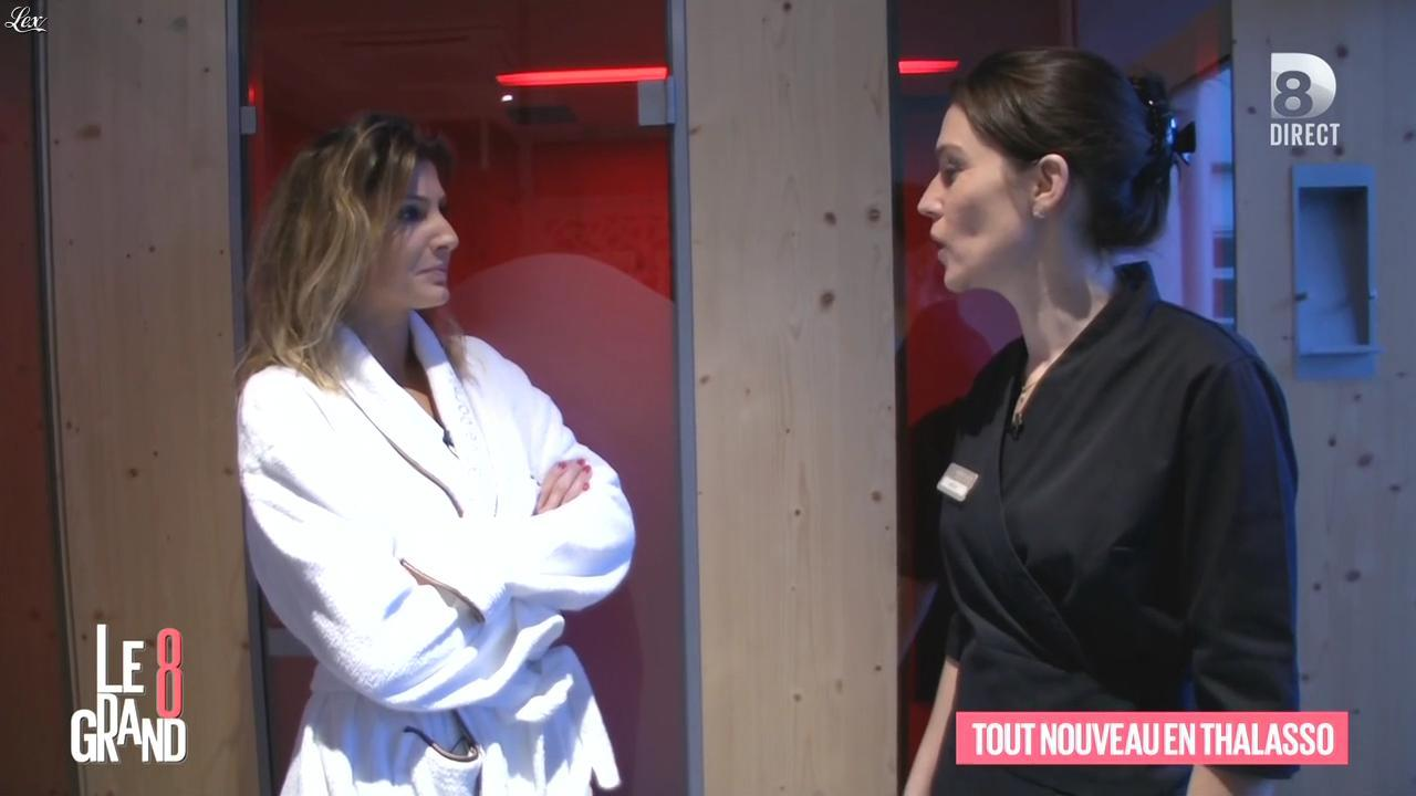 Caroline Ithurbide dans le Grand 8. Diffusé à la télévision le 25/01/16.
