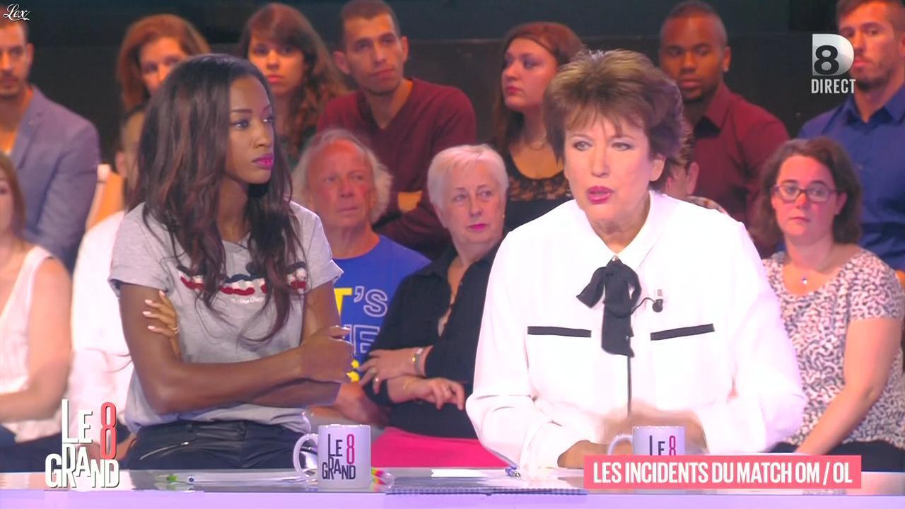 Hapsatou Sy dans le Grand 8. Diffusé à la télévision le 21/09/15.