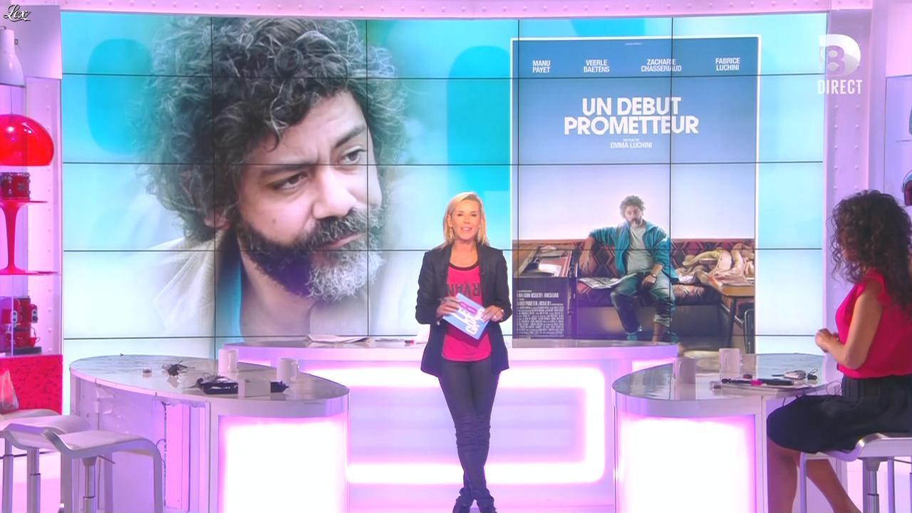 Laurence Ferrari et Aïda Touihri dans le Grand 8. Diffusé à la télévision le 28/09/15.