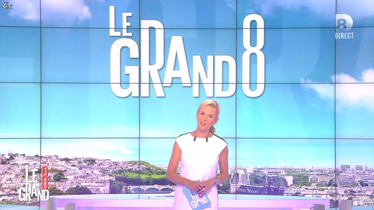 Laurence Ferrari dans le Grand 8. Diffusé à la télévision le 01/09/15.
