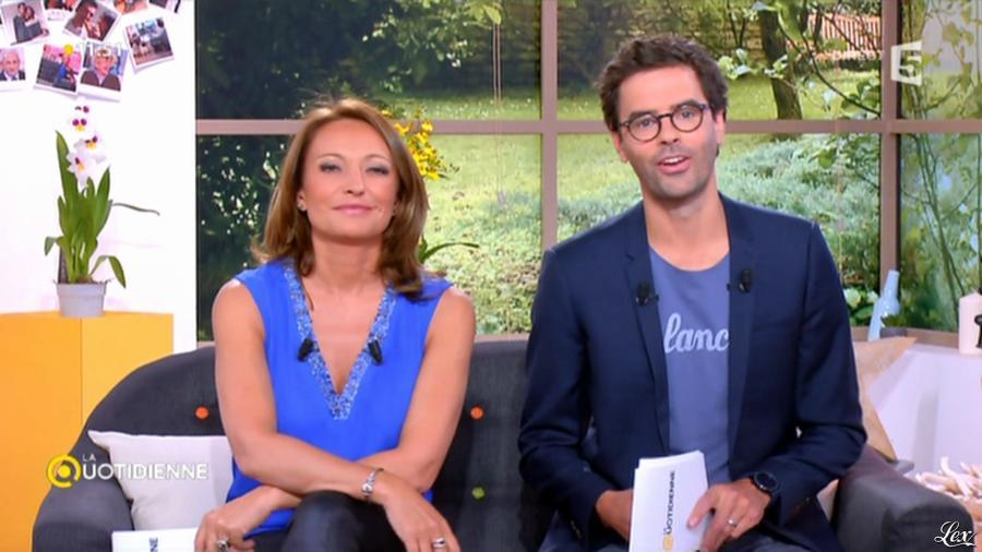 Valérie Durier dans la Quotidienne. Diffusé à la télévision le 06/05/15.