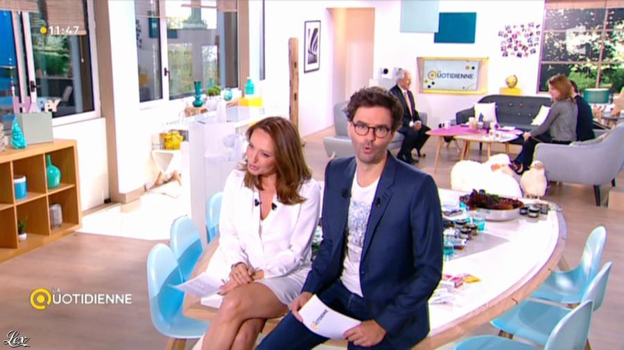 Valérie Durier dans la Quotidienne. Diffusé à la télévision le 08/04/15.