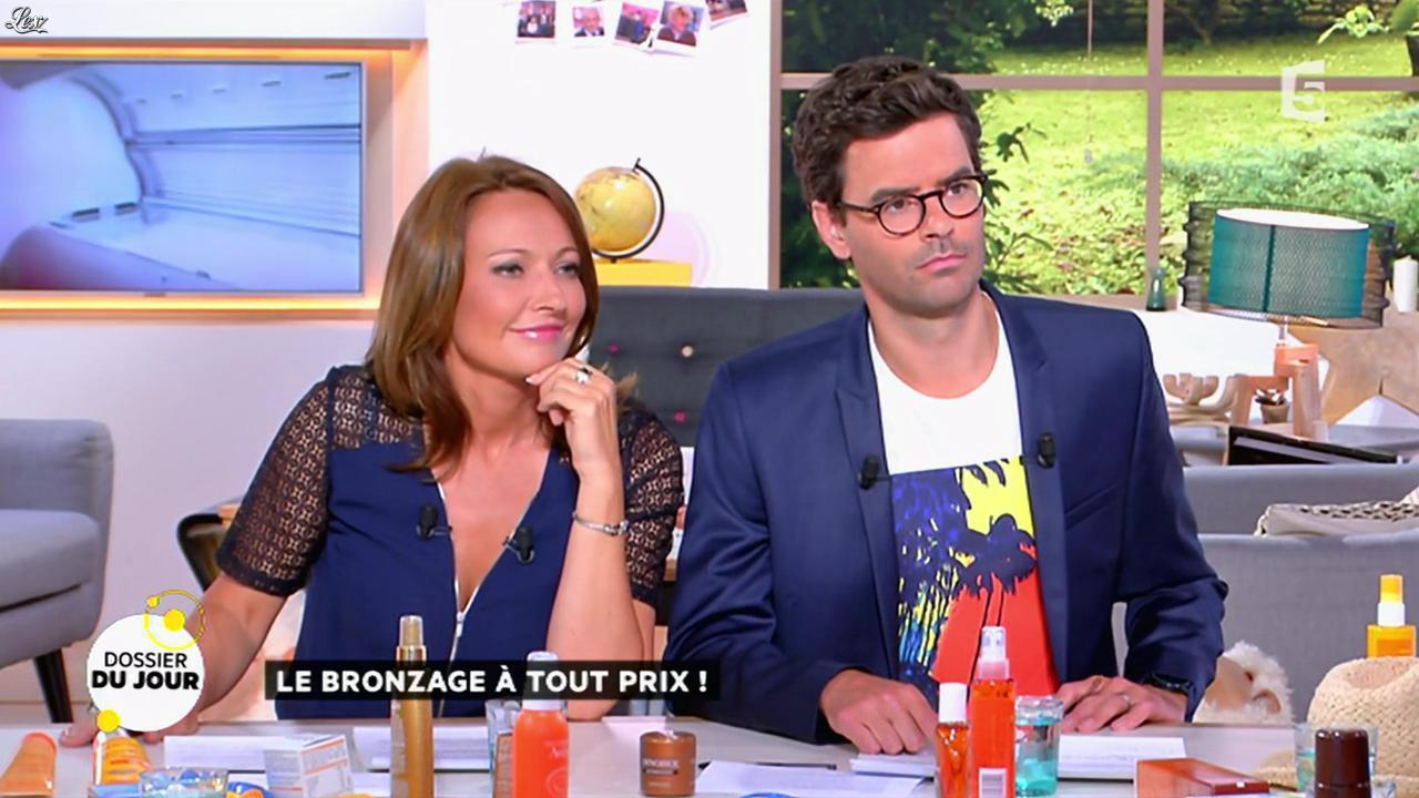Valérie Durier dans la Quotidienne. Diffusé à la télévision le 11/05/15.