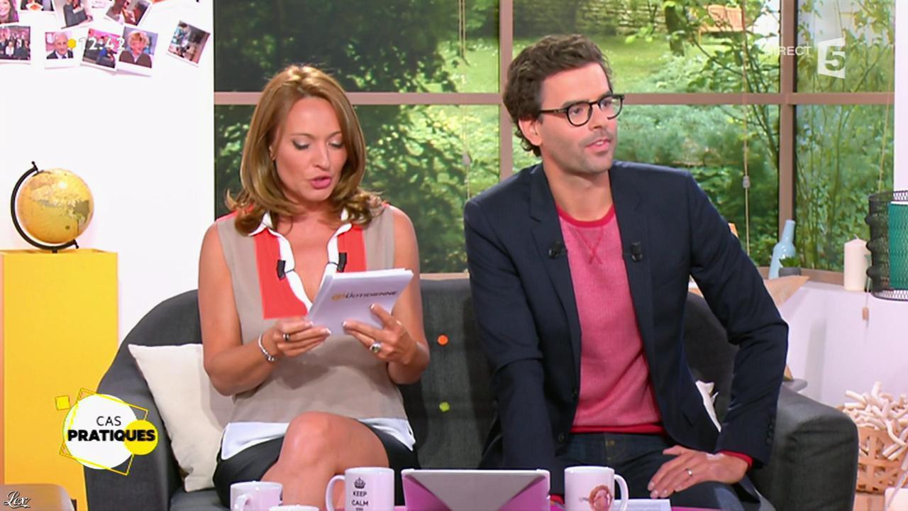 Valérie Durier dans la Quotidienne. Diffusé à la télévision le 28/05/15.
