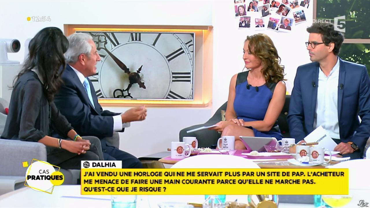 Valérie Durier dans la Quotidienne. Diffusé à la télévision le 30/04/15.