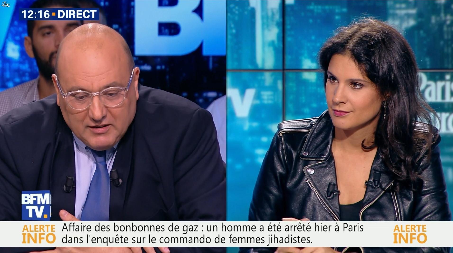 Apolline De Malherbe dans BFM Politique. Diffusé à la télévision le 11/09/16.