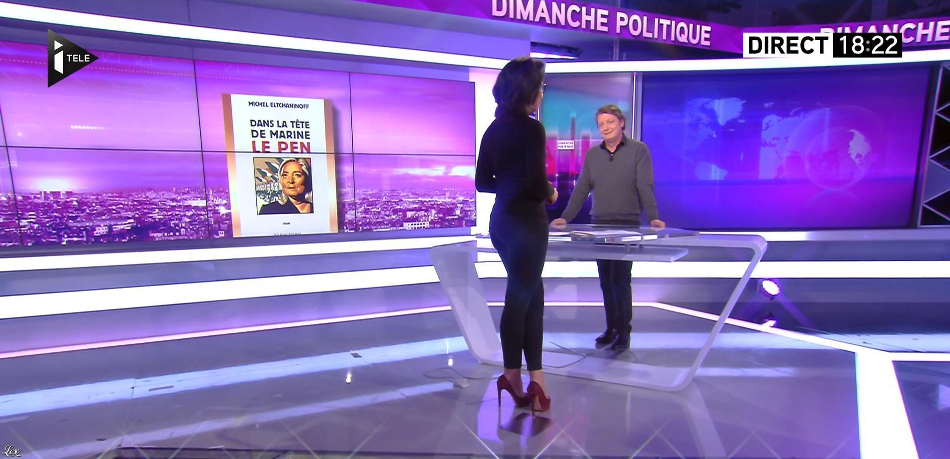 Audrey Pulvar dans Dimanche Politique. Diffusé à la télévision le 05/02/17.