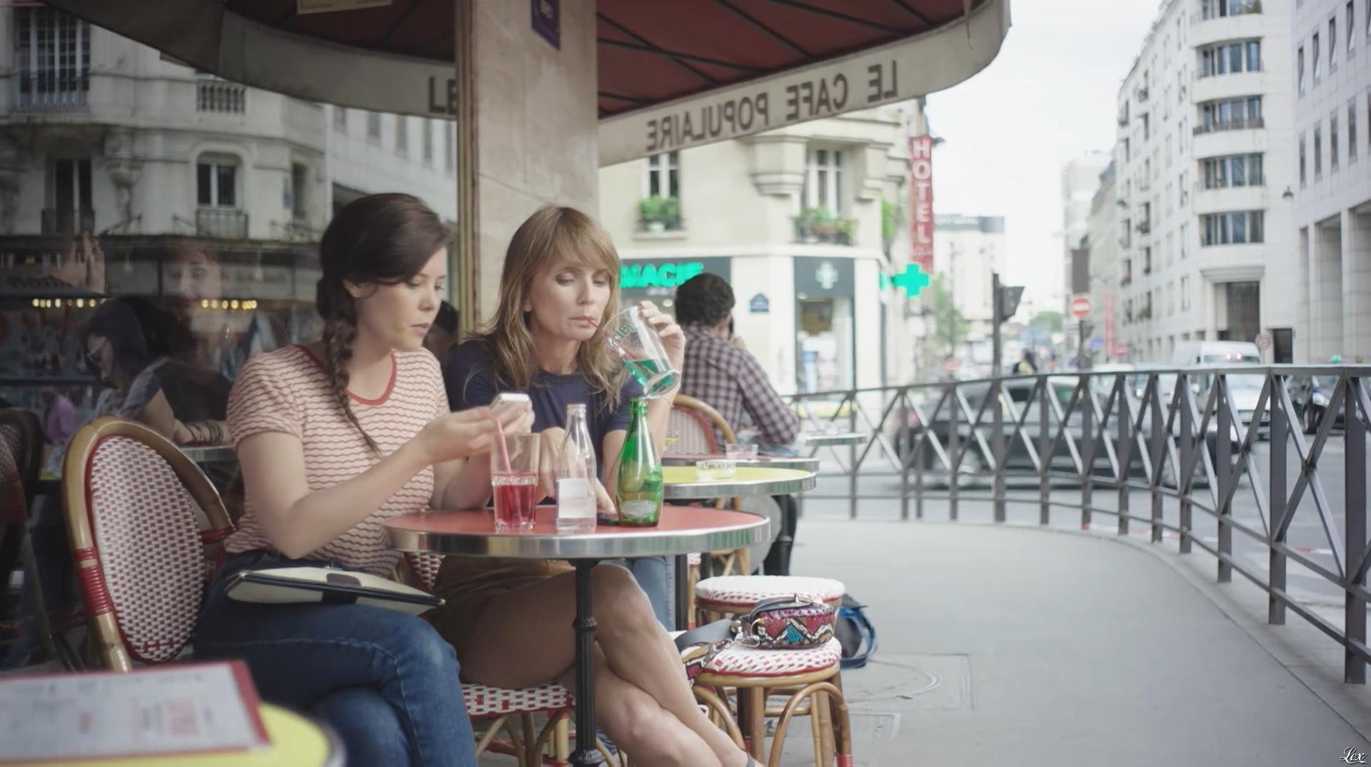 Axelle Laffont dans Addict. Diffusé à la télévision le 05/09/16.