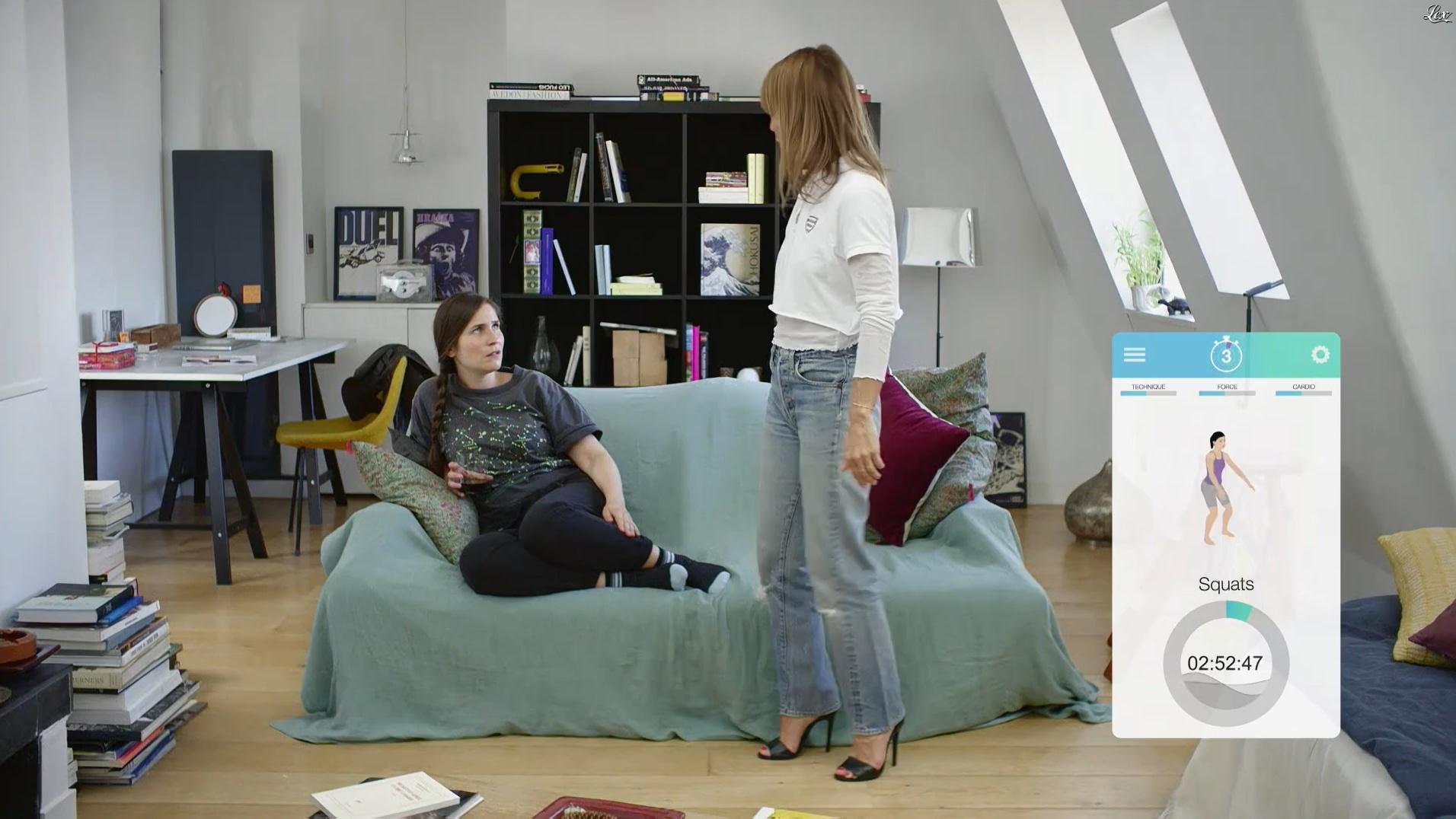 Axelle Laffont dans Addict. Diffusé à la télévision le 29/11/16.