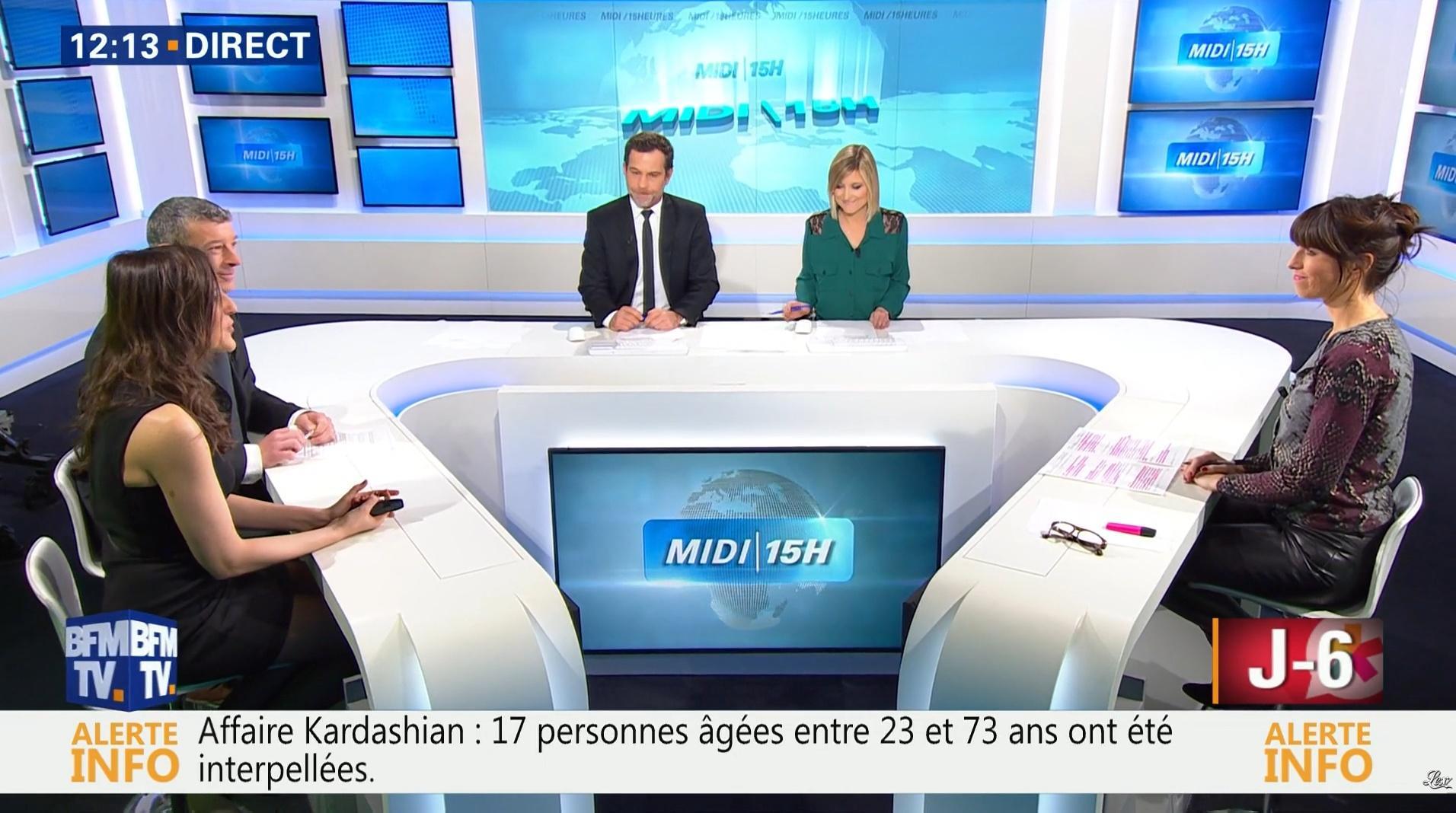 Candice Mahout dans le Midi-15h. Diffusé à la télévision le 09/01/17.