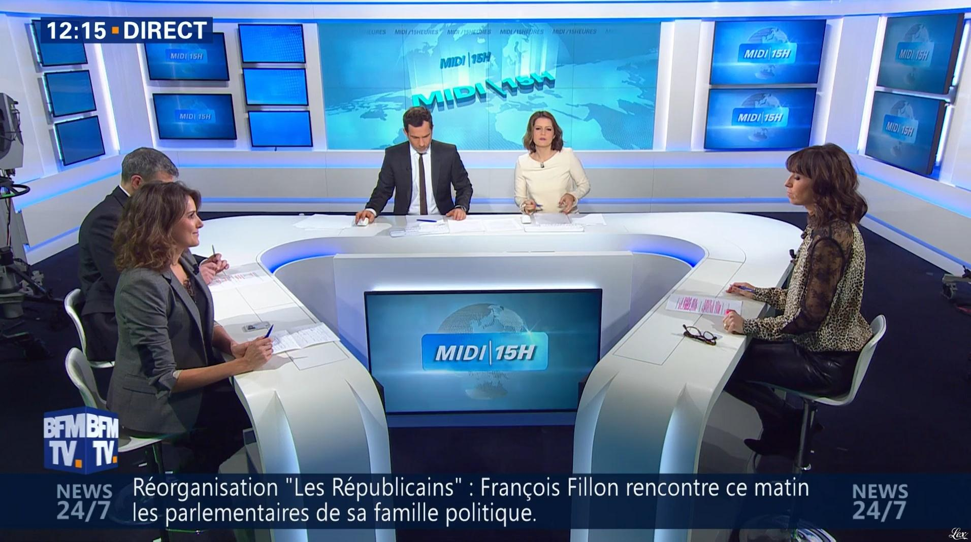Candice Mahout dans le Midi-15h. Diffusé à la télévision le 29/11/16.