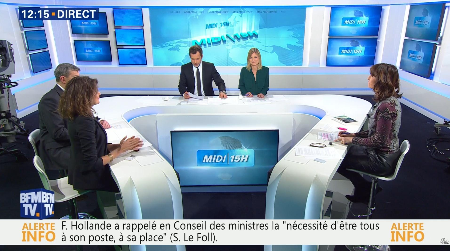 Candice Mahout dans le Midi-15h. Diffusé à la télévision le 30/11/16.