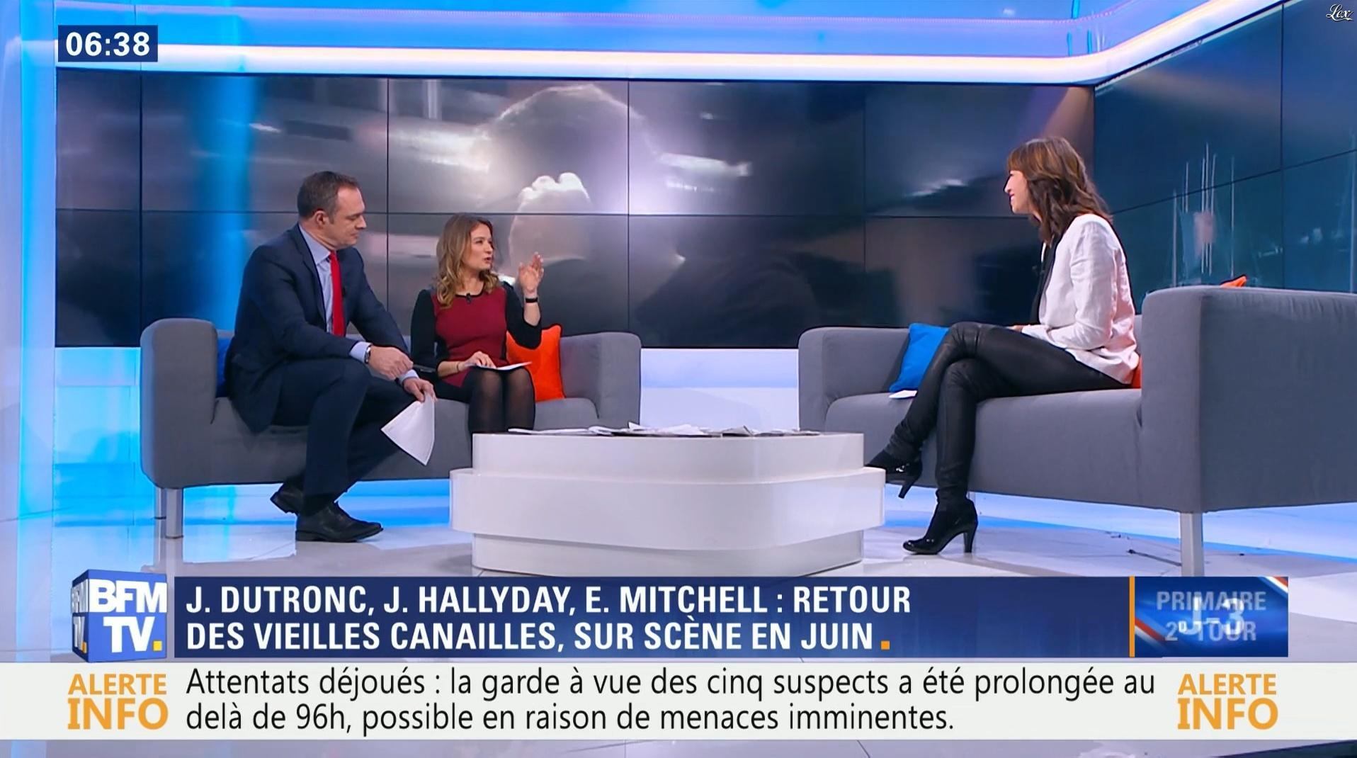 Candice Mahout dans Première Edition. Diffusé à la télévision le 24/11/16.